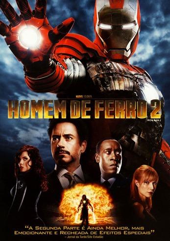 Homem de Ferro 2 - Capa DVD