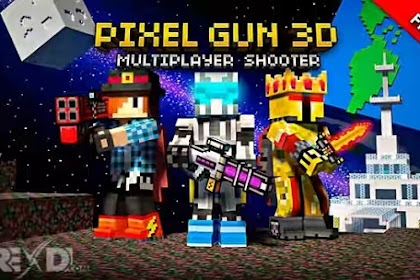 Pixel Gun 3D Pocket Edition v14.0.5 Full Apk+Obb Download