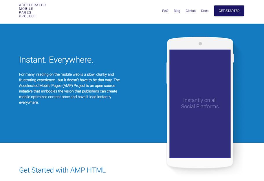モバイルサイトの爆速表示を実現するAMP-HTML-Page作成方法まとめ