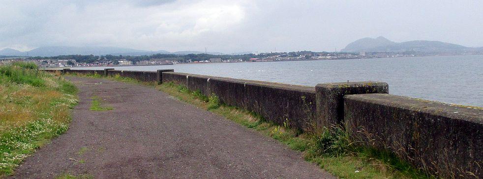 Promenadenweg bei Longniddry