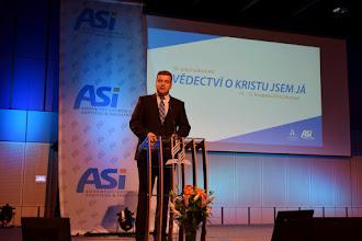 Photo: Petr Zahradník - moderátor setkání ASI-CS