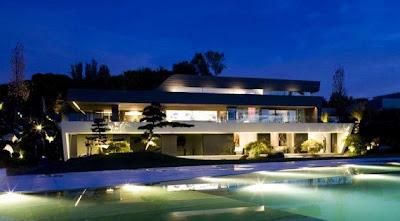 A magnífica mansão de Cristiano Ronaldo em Madrid