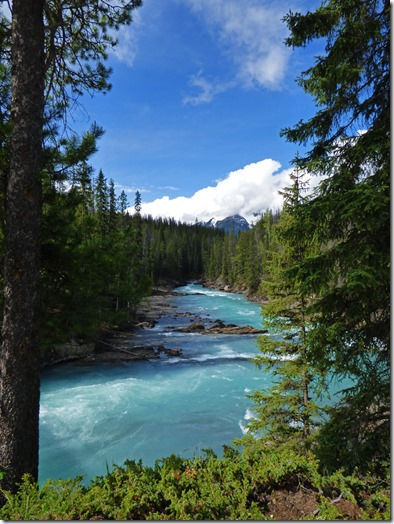 Beyond Natural Bridge, Kicking Horse River, Yoho National Park