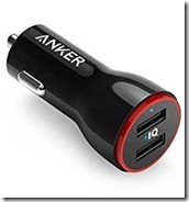 Anker dual USB Car Charger