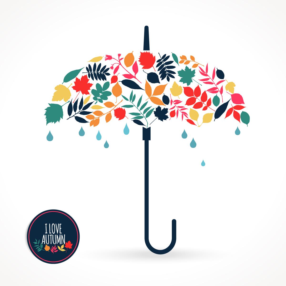 Vector Illustration Umbrella Free Download Vector CDR, AI, EPS and PNG Formats