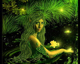 Green Elven Undine