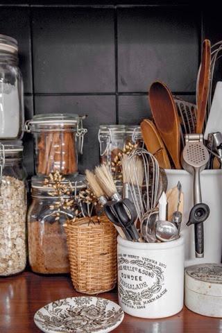 homestyling inspiration: Köksredskap