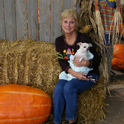 The Pumpkin Patch w Mom and Dad - October 2009