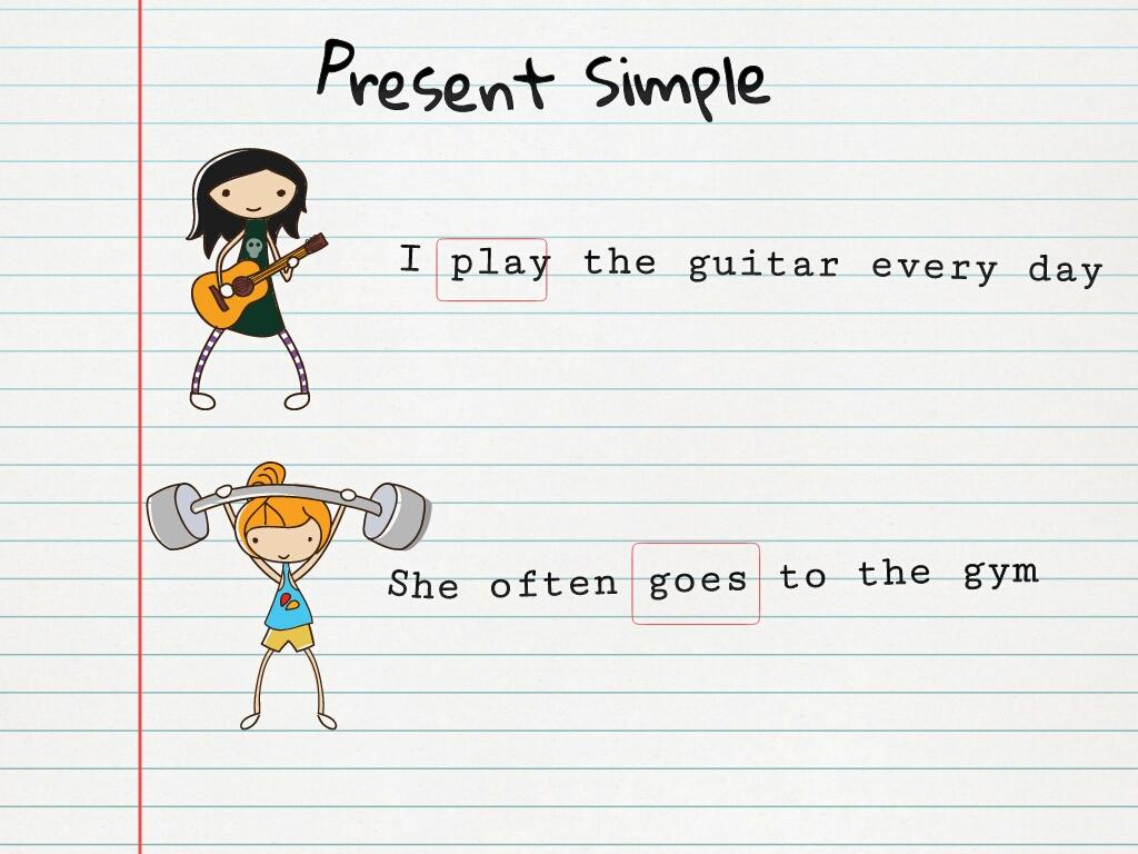 Englishmania Present Simple