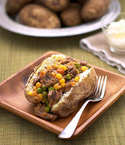 Shepherd's Pie Baked Potato