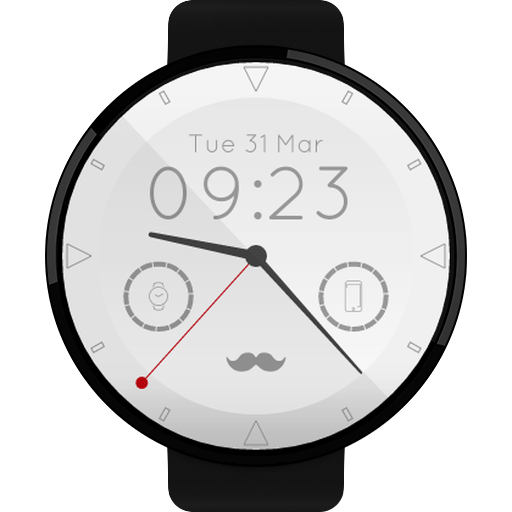 Mustache Watch Face - Apps on Google Play