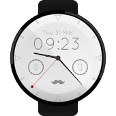 Mustache Watch Face