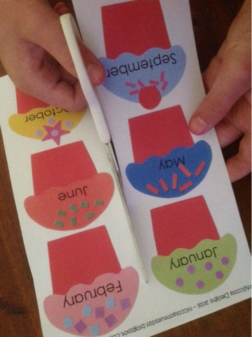 Print Out And Cut The Cupcakes Birthday Cake Stand