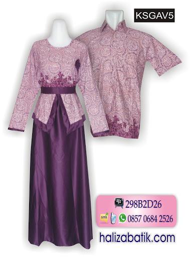 Model baju batik terbaru wanita grosir batik gamis Gambar baju gamis batik wanita