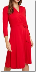 Phase Eight Red Wrap Dress