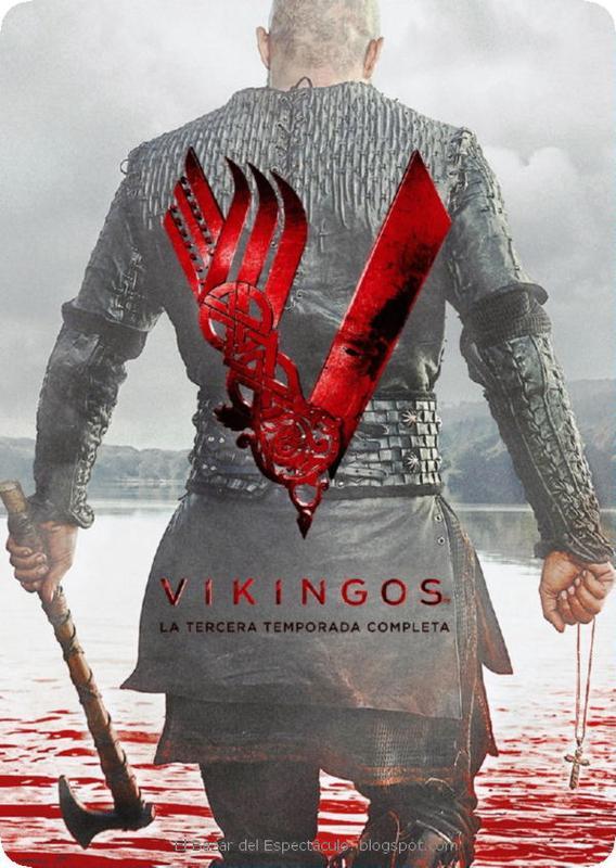Tapa Vikingos - Tercera Temporada 3 DVD.jpeg
