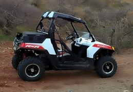 RZR on the Trail