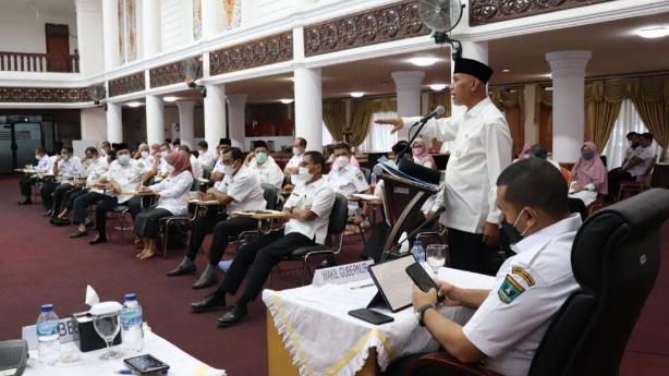 Gubernur Tegaskan Pentingnya Komunikasi, Koordinasi dan Kolaborasi dalam Pemerintahan