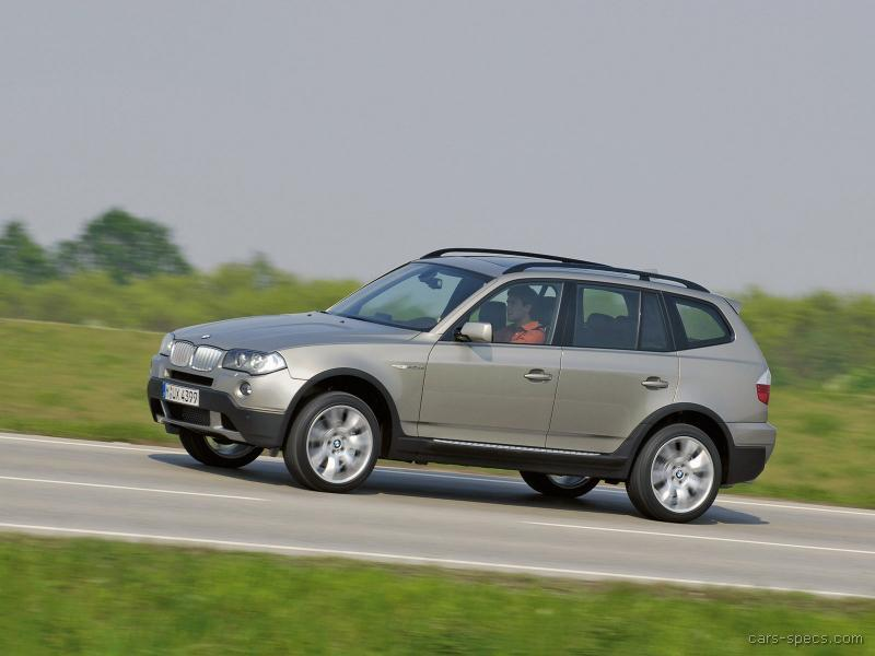 2007 bmw x3 suv specifications pictures prices. Black Bedroom Furniture Sets. Home Design Ideas