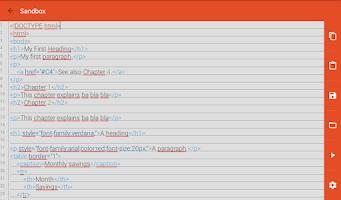 Screenshot of Learn programming