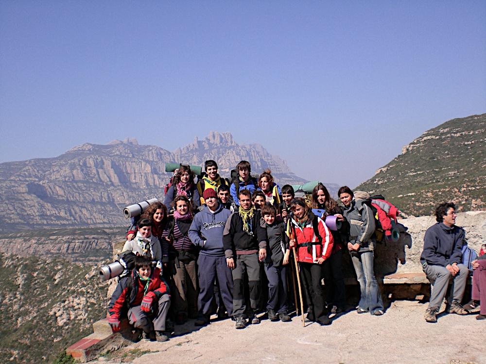Sortida Sant Salvador de les espasses 2006 - CIMG8374.JPG