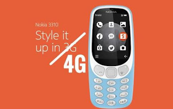 'Nokia' introduced a 4G version of its old-timey phone