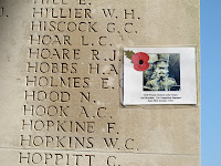 At Thiepval  (by Michael)