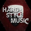 Hardstyle music icon