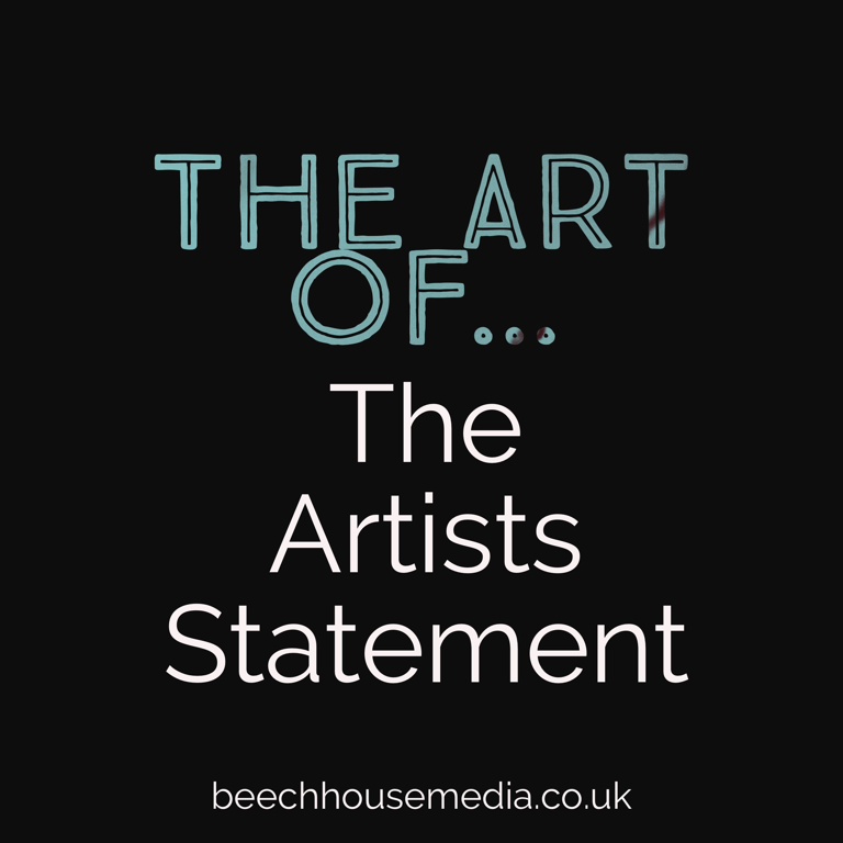 the art of writing an artists statement the Definitive Guide
