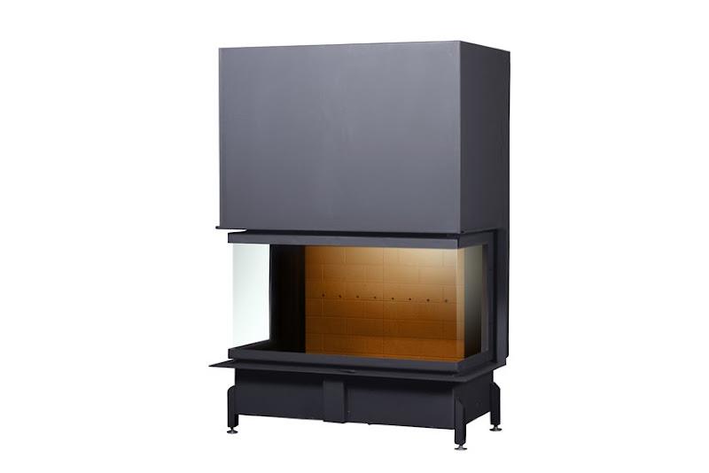PANTECH 100 EVO U LD D200 PODIZNI dim. 921x1332 promjer dimovodne cijevi: fi200 težina ložišta:302 kg