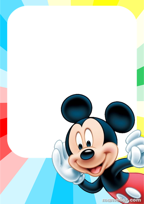 Marco de Fotos del Mickey Mouse