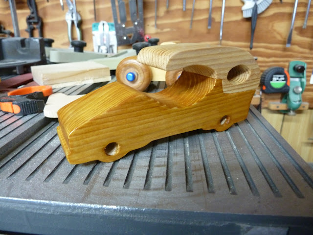 "Handmade Wood Toy Car ""Speedy Wheels Series"" The first Car"