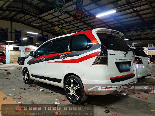 modifikasi avanza sticker