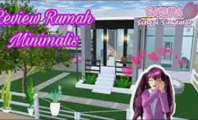 ID Rumah Minimalis di Sakura School Simulator Cek Disini