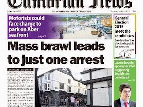 Local arrests after Aber brawl