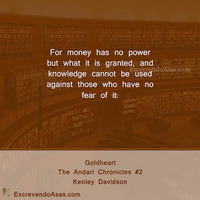 Goldheart, The Andari Chronicles #2 - Kenley Davidson