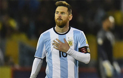 Messi on bench as Argentina face Italy