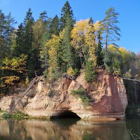 Ligatne trails and Gudu cliffs (Oct. 18)