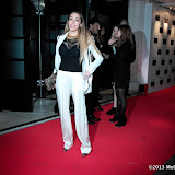 WWW.ENTSIMAGES.COM -  Delilah  arriving at   ELLE Style Awards 2013 at The Savoy, Strand, London                                                        Photo Mobis Photos/OIC 0203 174 1069