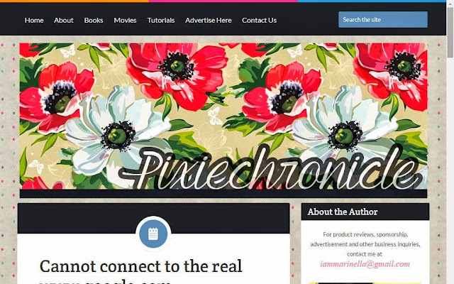 Blogger Layout from Pixiechronicle