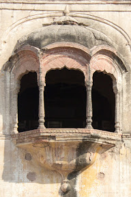 The Jharokas on the Asif Jah's building.