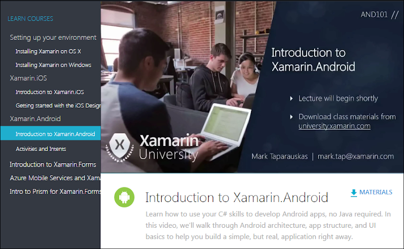 Xamarin Videos