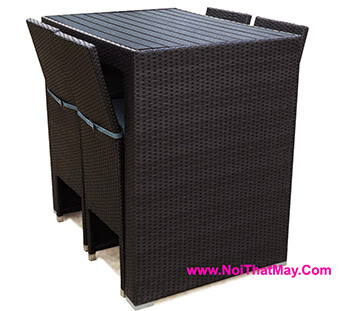 Outdoor Wicker Bar Set Minh Thy 823