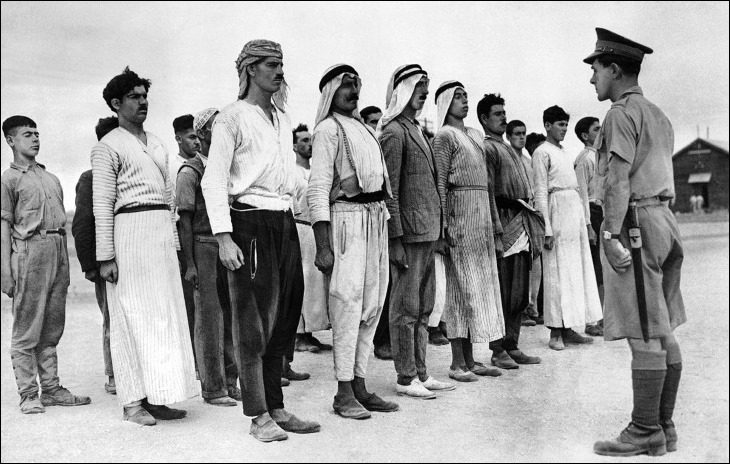 Palestina - Segunda Guerra Mundial