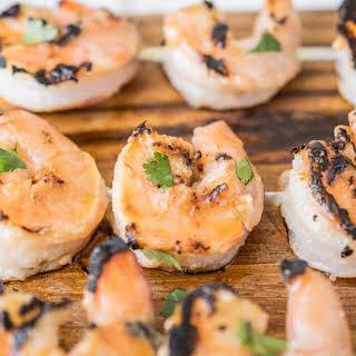 Grilled Miso Shrimp.
