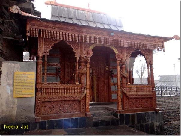 Temple at Kalpa
