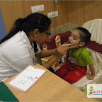 Dental Check up of Nursery Evening Section, Witty World, Chikoowadi