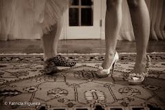 Foto 0246pb. Marcadores: 18/06/2011, Casamento Sunny e Richard, Mega Shoes, Rio de Janeiro, Sapato