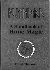 Cover of Edred Thorsson's Book Futhark A Handbooks of Rune Magic
