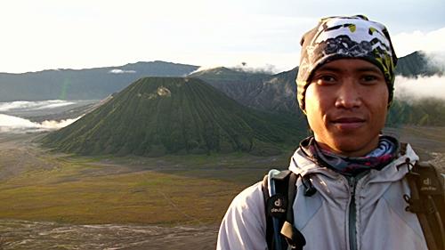 Gunung Batok terlihat dari Penanjakan.